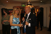 Constance Gotsopoulou and Tegern Prytherch Jones. New Collectors Evening. The Grosvenor House Art and Antiques Fair. 20 June 2006. ONE TIME USE ONLY - DO NOT ARCHIVE  © Copyright Photograph by Dafydd Jones 66 Stockwell Park Rd. London SW9 0DA Tel 020 7733 0108 www.dafjones.com