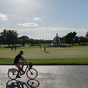 DORAL, FLORIDA, JUNE 24, 2017<br /> Putting green in the afternoon at the Trump National Doral Miami Golf Shop.<br /> (Photo by Angel Valentin/Freelance)