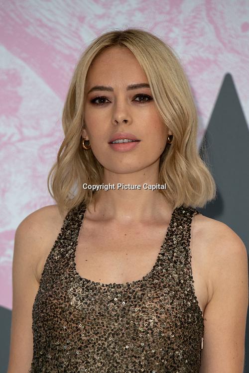 Tanya Burr arrives at V&A - summer party, on 19 June 2019, London, UK