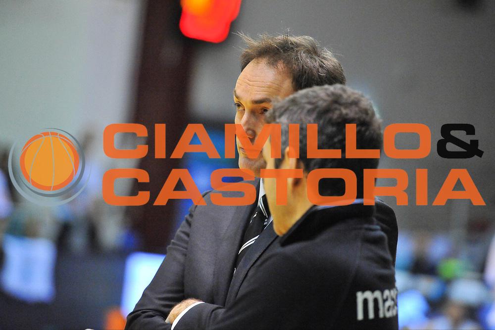 DESCRIZIONE : Campionato 2013/14 Dinamo Banco di Sardegna Sassari - Virtus Granarolo Bologna<br /> GIOCATORE : Luca Bechi<br /> CATEGORIA : Allenatore Coach<br /> SQUADRA : Virtus Granarolo Bologna<br /> EVENTO : LegaBasket Serie A Beko 2013/2014<br /> GARA : Dinamo Banco di Sardegna Sassari - Virtus Granarolo Bologna<br /> DATA : 19/01/2014<br /> SPORT : Pallacanestro <br /> AUTORE : Agenzia Ciamillo-Castoria / Luigi Canu<br /> Galleria : LegaBasket Serie A Beko 2013/2014<br /> Fotonotizia : Campionato 2013/14 Dinamo Banco di Sardegna Sassari - Virtus Granarolo Bologna<br /> Predefinita :