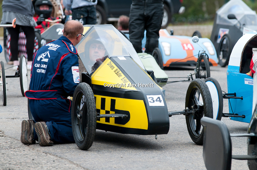 Cairngorm soapbox extreme race. The UK's longest and fastest ....Gravity Racing on the longest and fastest course in the UK. Soapbox and Gravity Sidecar Classes. 1st & 2nd July 2011. Nae Jessies..photo by Alex Hewitt.alex.hewitt@gmail.com.07789871540