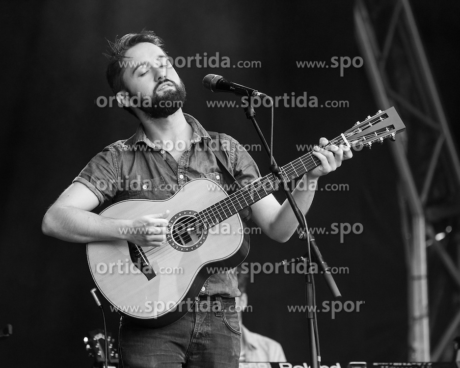 Irish indie folk band from Dublin - Villagers - Conor O'Brien (acoustic guitar, lead vocals), performing live in concert for the concert series, LIVE AT CHELSEA at the The Royal Hospital Chelsea, London, United Kingdom, Date: 12/06/2015. EXPA Pictures &copy; 2015, PhotoCredit: EXPA/ Photoshot/ Tim Holt<br /> <br /> *****ATTENTION - for AUT, SLO, CRO, SRB, BIH, MAZ only*****