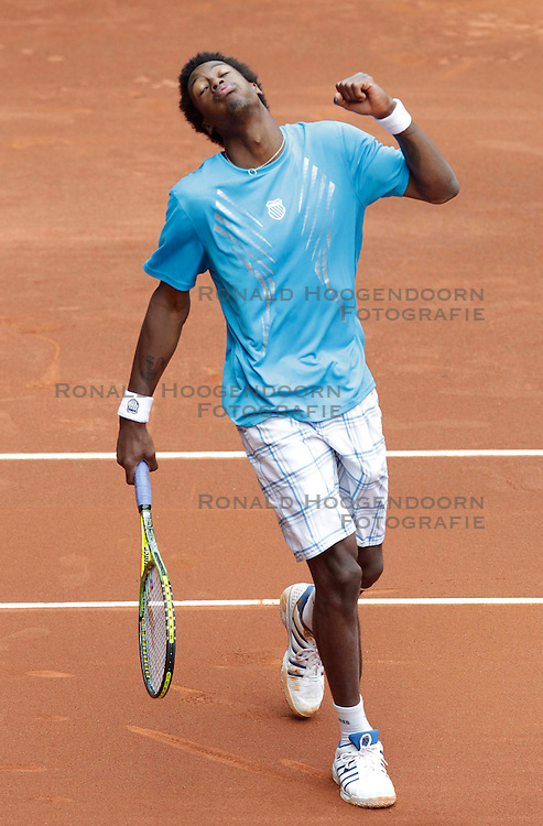 14-05-2010 TENNIS: ATP MADRID OPEN: MADRID<br /> Gael Monfils<br /> &copy;2010- FRH nph / Cesar Cebolla