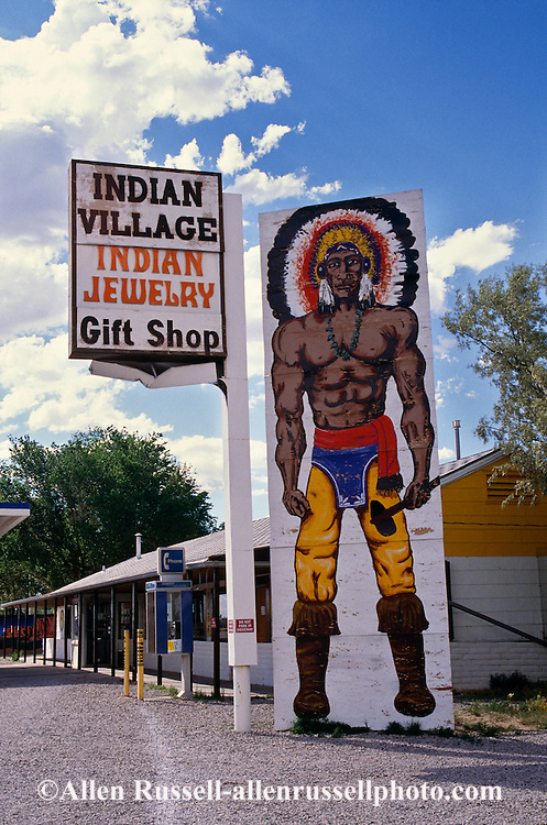 Indian Trading Post on Interstate 40, New Mexico