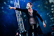 Danny O'Donoghue/The Script performing live at the Rock A Field Festival in Luxembourg, Europe on June 30, 2013