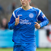 St Johnstone FC.... Season 2010-11<br /> Murray Davidson<br /> Picture by Graeme Hart.<br /> Copyright Perthshire Picture Agency<br /> Tel: 01738 623350  Mobile: 07990 594431
