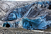 Ice cave in Kverkfjöll, north-east highlands