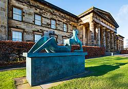 Exterior view of Scottish National Gallery of Modern Art - One, in Edinburgh, Scotland, UK