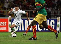 FOOTBALL - AFRICAN NATIONS CUP 2010 - GROUP A - ALGERIA v MALI - 14/01/2010 - PHOTO MOHAMED KADRI / DPPI - KARIM MATMOUR (ALG)