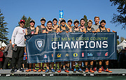 Oct. 27, 2017; Springfield, OR, USA; Stanford Cardinal won the men's race in the Pac-12 cross country championships at the Springfield  Golf Club.