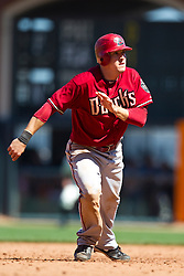 May 30, 2010; San Francisco, CA, USA;  Arizona Diamondbacks second baseman Kelly Johnson (2) during the ninth inning against the San Francisco Giants at AT&T Park.  San Francisco defeated Arizona 6-5 in 10 innings.