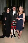 (L to R) Sharleen Spiteri, Ewan McGregor and Lady Helen Taylor attend Not Another Burns night. St. Martin's Lane Hotel.  Monday 3rd March 2008.<br />