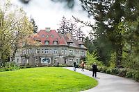 Pittock Mansion in Portland, Oregon.