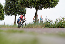 Lotte Kopecky (Lotto Soudal) at the 4.4 km Prologue of the Lotto Belgium Tour 2016 on 6th September 2016 in Nieuwpoort, Belgium. (Photo by Sean Robinson/Velofocus).