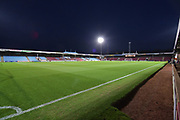 Scunthorpe United Glanford park ground before  the EFL Sky Bet League 1 match between Scunthorpe United and Fleetwood Town at Glanford Park, Scunthorpe, England on 17 October 2017. Photo by Ian Lyall.