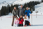 Fotosessie met de koninklijke familie in Lech /// Photoshoot with the Dutch royal family in Lech .<br /> <br /> Op de foto/ On the photo: Koningin Maxima, Koning Willem Alexander, Prinses Amalia, Prinses Alexia en Prinses Ariane met Prinses Beatrix ///// Queen Maxima, King Willem Alexander, Princess Amalia, Princess Alexia and Princess Ariane with Princess Beatrix