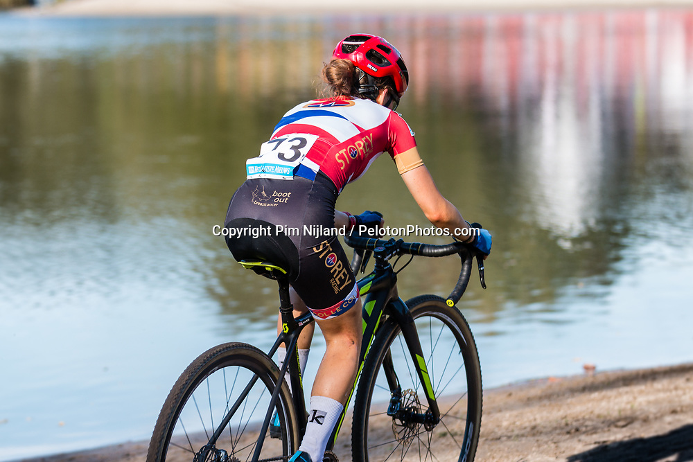 Anna KAY (GBR) during the Women Elite race at the 2018 Telenet Superprestige Cyclo-cross #1 Gieten, UCI Class 1, Gieten, Drenthe, The Netherlands, 14 October 2018. Photo by Pim Nijland / PelotonPhotos.com | All photos usage must carry mandatory copyright credit (Peloton Photos | Pim Nijland)