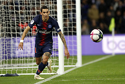 November 2, 2018 - Paris, Ile-de-France, France - Angel Di Maria attends the soccer match game between PSG and Lille at the Parc de Prince, in Paris, France. On November 2, 2018. (Photo by Mehdi Taamallah / Nurphoto) (Credit Image: © Mehdi Taamallah/NurPhoto via ZUMA Press)