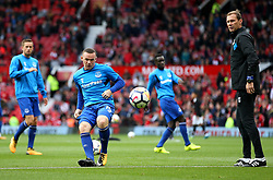 Wayne Rooney of Everton warms up - Mandatory by-line: Matt McNulty/JMP - 17/09/2017 - FOOTBALL - Old Trafford - Manchester, England - Manchester United v Everton - Premier League