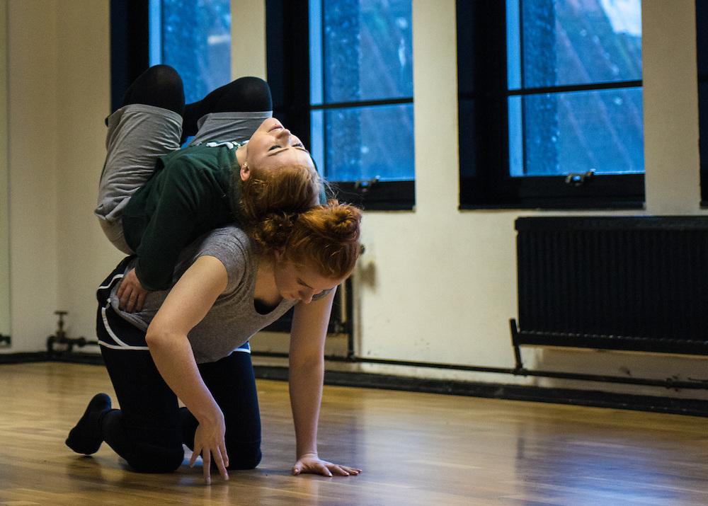 Fertile Ground rehearsal with Eleesha Drennan