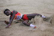 Fatima Diame (Spain), Long Jump, during the European Athletics Indoor Championships 2019 at Emirates Arena, Glasgow, United Kingdom on 2 March 2019.