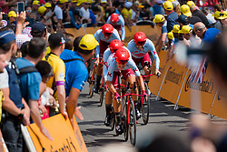 Team Katusha - Alpecin (SUI,WT,Canyon) during stage 2 TTT from Bruxelles to Brussel of the 106th Tour de France, 7 July 2019. Photo by Pim Nijland / PelotonPhotos.com   All photos usage must carry mandatory copyright credit (Peloton Photos   Pim Nijland)