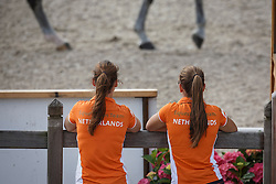 Dutch Team,  (NED)<br /> Roelofsen Horse Trucks Prijs - Juniors Team Test<br /> Dutch Championship Dressage - Ermelo 2015<br /> © Hippo Foto - Dirk Caremans<br /> 17/07/15