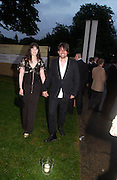Alex James. The Serpentine Summer party co-hosted by Jimmy Choo. The Serpentine Gallery. 30 June 2005. ONE TIME USE ONLY - DO NOT ARCHIVE  © Copyright Photograph by Dafydd Jones 66 Stockwell Park Rd. London SW9 0DA Tel 020 7733 0108 www.dafjones.com