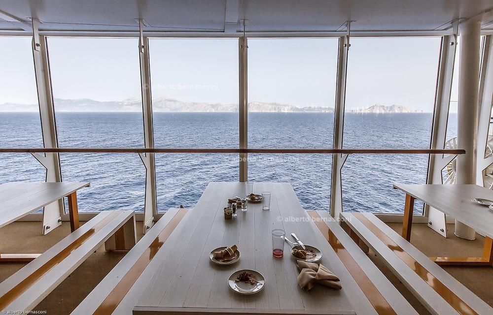 Royal Caribbean, Harmony of the Seas, the snack restaurant