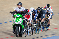 February 28, 2019 - Pruszkow, Poland - Day two of the UCI Track Cycling World Championships held in the BGZ BNP Paribas Velodrome Arena on February 28, 2019 in Pruszkow, Poland. (Credit Image: © Foto Olimpik/NurPhoto via ZUMA Press)