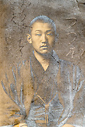 portrait of a young man wearing traditional kimono  Japan ca 1930s