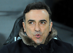 Swansea City manager Carlos Carvalhal looks on - Mandatory by-line: Nizaam Jones/JMP - 27/02/2018 - FOOTBALL - Liberty Stadium - Swansea, Wales-Swansea City v Sheffield Wednesday - Emirates FA Cup fifth round proper