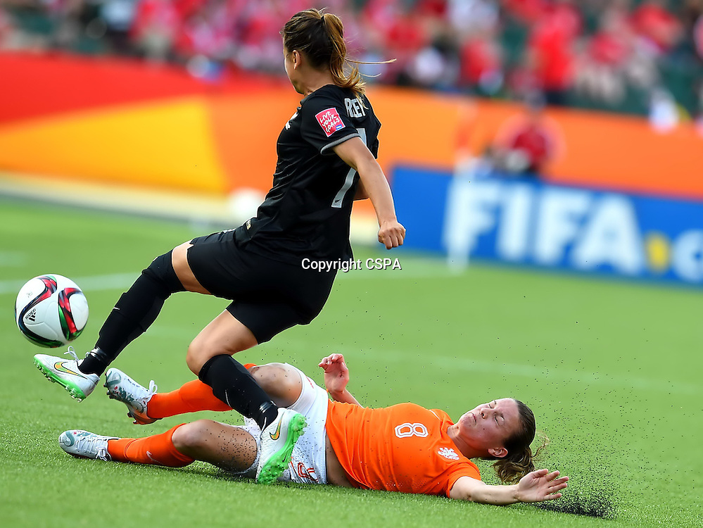 Jun 06, 2015; Edmonton, CANADA; Netherlands enjoyed a perfect FIFA Women's World Cup debut with a 1-0 victory over New Zealand to set themselves up with a real opportunity to reach the last 16.