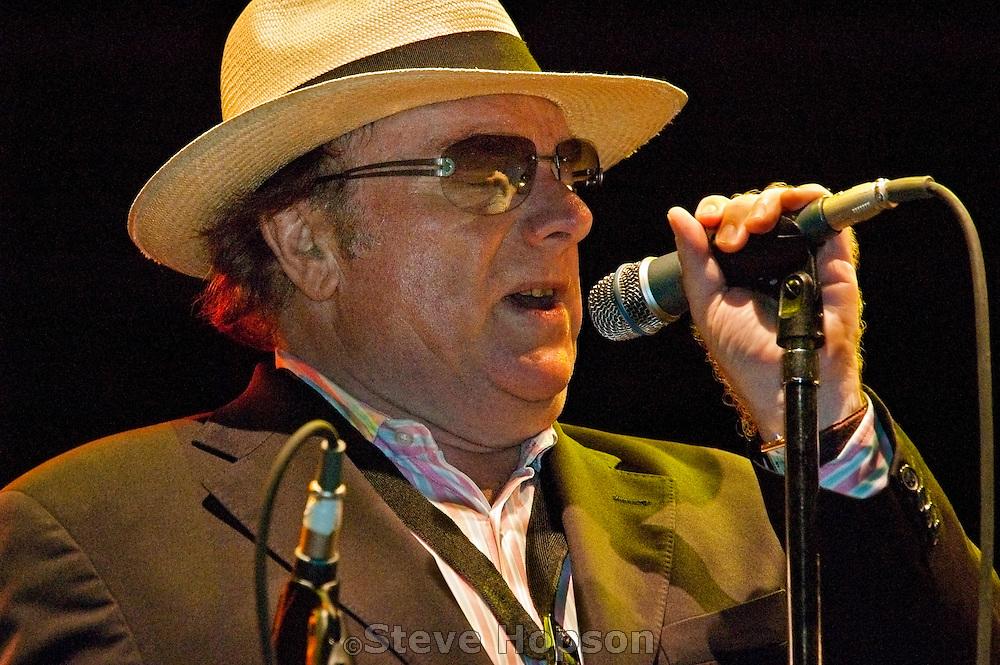 Van Morrison performing at the Austin City Limits Music Festival, September 15 2006.