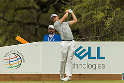 March 23, 2018 - Austin, TX, U.S. - AUSTIN, TX - MARCH 23:  Justin Thomas his a tee shot during the WGC-Dell Technologies Match Play Tournament on March 22, 2018, at the Austin Country Club in Austin, TX.  (Photo by David Buono/Icon Sportswire) (Credit Image: © David Buono/Icon SMI via ZUMA Press)