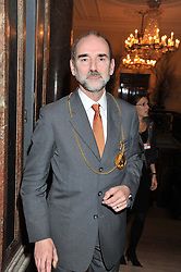 President of the Royal Academy of Art PROF.CHRISTOPHER LE BRUN at a private view to celebrate the opening of the Royal Academy's exhibition of work by David Hockney held at The Royal Academy, Burlington House, Piccadilly, London on 17th January 2012.