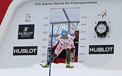 19.02.2011, Gudiberg, Garmisch Partenkirchen, GER, FIS Alpin Ski WM 2011, GAP, Damen, Slalom, im Bild Tanja Poutiainen (FIN) // Tanja Poutiainen (FIN) during Ladie's Slalom Fis Alpine Ski World Championships in Garmisch Partenkirchen, Germany on 19/2/2011. EXPA Pictures © 2011, PhotoCredit: EXPA/ M. Gunn