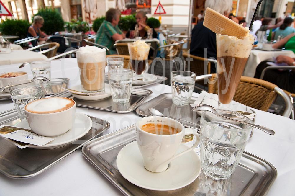 Kaffeesorten Wien