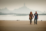 Danny and Zarah pre wedding shoot on St Ouens