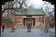 Yongtai Temple, opposite  Shaolin Temple, a Chán Buddhist temple on Mount Song, near Dengfeng, Zhengzhou, Henan province, China