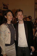 MARY MCCARTNEY AND CHRISTOPHER BAILEY, Opening of Photo-London, Burlington Gdns. London. 17 May 2006. ONE TIME USE ONLY - DO NOT ARCHIVE  © Copyright Photograph by Dafydd Jones 66 Stockwell Park Rd. London SW9 0DA Tel 020 7733 0108 www.dafjones.com