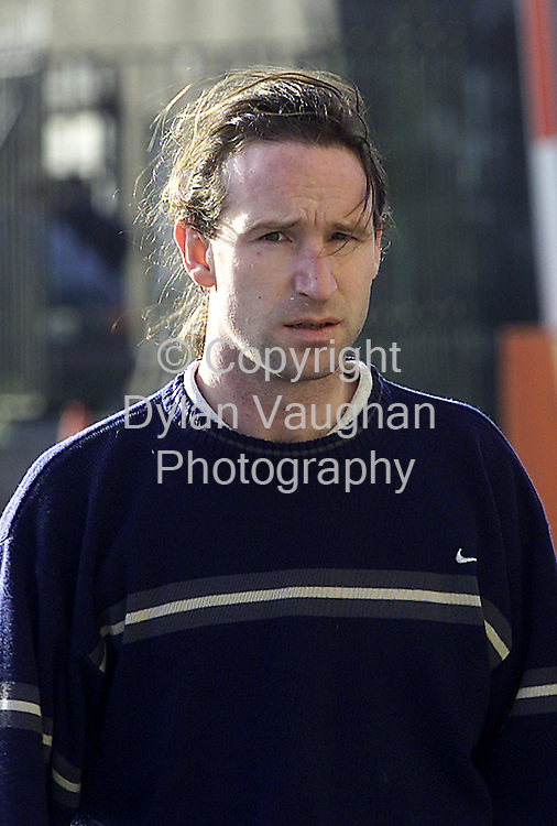 28/1/2001 Irish Independent News.John Moroney from Carick-on-Suir.pictured at Waterford court yesterday..Picture Dylan Vaughan.
