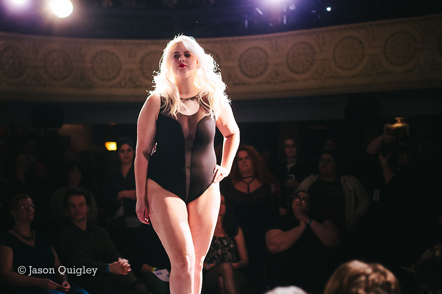 Rogue:Minx at Unmentionable: A Lingerie Exhibition at the Mission Theater in Portland, OR. Feb. 8, 2017. Photo by Jason Quigley www.photojq.com