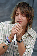 Paolo Nutini performing at the Austin City Limits Music Festival in Austin Texas on September 15, 2007.