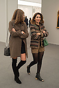 VICTORIA PONIATOWSKI; JAY SAIGOL, Opening of Frieze Masters, Regents Park, London 12 October 2015