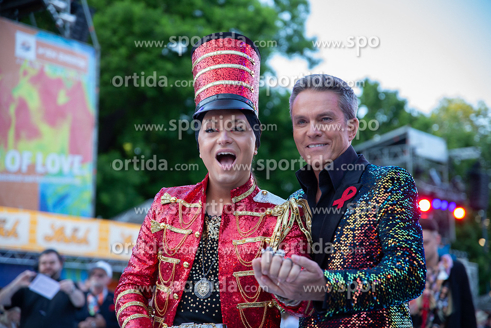 08.06.2019, Rathaus, Wien, AUT, Life Ball im Bild v.l. Julian Stoeckl, Alfons Haider // during the Life Ball at the Rathaus in Wien, Austria on 2019/06/08. EXPA Pictures © 2019, PhotoCredit: EXPA/ Florian Schroetter