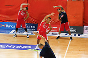 Nicolo Melli, Stefano Tonut, Cristian Burns<br /> Raduno Nazionale Maschile Senior<br /> Allenamento sera<br /> Folgaria, 22/07/2017<br /> Foto Ciamillo-Castoria/ M. Brondi