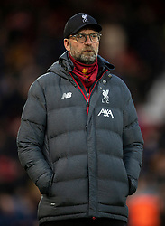 LIVERPOOL, ENGLAND - Sunday, January 5, 2020: Liverpool's manager Jürgen Klopp before the FA Cup 3rd Round match between Liverpool FC and Everton FC, the 235th Merseyside Derby, at Anfield. (Pic by David Rawcliffe/Propaganda)