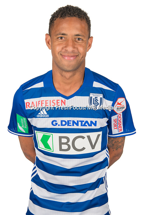 30.08.2016; Lausanne; Fussball Super League - Portrait FC Lausanne;<br /> Gabriel Torres<br /> (HO/freshfocus)