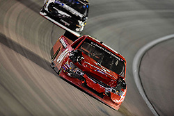 March 1, 2019 - Las Vegas, Nevada, U.S. - LAS VEGAS, NV - MARCH 01: Cory Roper (04) Roper Racing Ford F-150 racing during the Gander Outdoors Truck Series Strat 200 race on March 1, 2019, at Las Vegas Motor Speedway in Las Vegas, NV. (Photo by David Allio/Icon Sportswire) (Credit Image: © David Allio/Icon SMI via ZUMA Press)